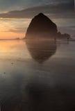 Playa Oregon del cañón Foto de archivo