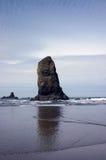 Playa Oregon del cañón Fotos de archivo