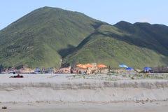 Playa pálida del estaño del jamón en Hong-Kong Fotografía de archivo libre de regalías