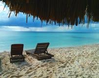 Playa Palancar. At Cozumel, Mexico. Photo taken in October, 2014 royalty free stock photography