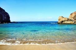 Playa Papagayo Royalty-vrije Stock Foto's