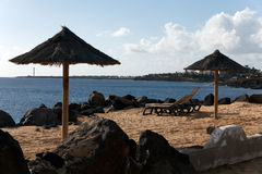 Playa Papagayo Beach,Playa Blanca,Lanzarote,Spain Royalty Free Stock Photo