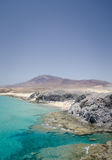 从playa papagayo的Playa mujeres 图库摄影