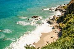 Playa paradisíaca Foto de archivo