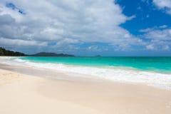 Playa Paradise de Waimanalo foto de archivo