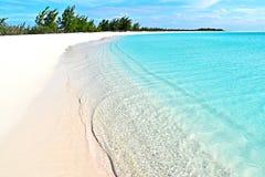 Playa Paraiso,古巴 免版税库存照片
