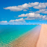 Playa Paraiso beach in Manga Mar Menor Murcia Royalty Free Stock Photos