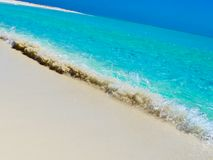 Playa Paraiso (Cayo Largo, Cuba, Caribbeans) Royalty Free Stock Photo