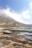 Playa pedregosa salvaje Foto de archivo