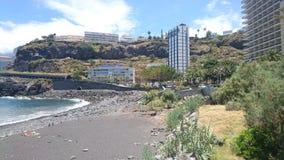 Playa pedregosa Tenerife Fotografía de archivo