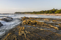 Playa Pelada Tidal Pools Royalty Free Stock Images