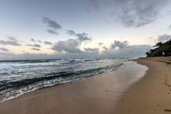 Playa Pena - Сан-Хуан, Пуэрто-Рико Стоковое фото RF