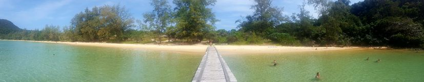 Playa perezosa foto de archivo