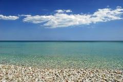 Playa perfecta tropical Imagenes de archivo