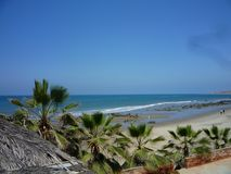 Playa peruana foto de archivo libre de regalías