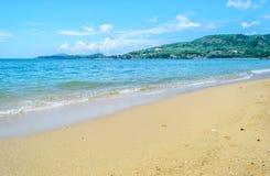 Playa phuket Tailandia de Kamala Foto de archivo