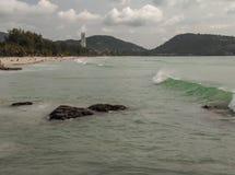 Playa phuket Tailandia de Patong Foto de archivo libre de regalías
