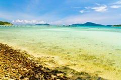 Playa phuket Tailandia de Rawai Foto de archivo