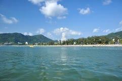 playa Phuket Tailandia del ??Patong Foto de archivo