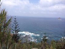 Playa Pino y Стоковая Фотография