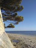 Playa/plage Arcachon Imágenes de archivo libres de regalías