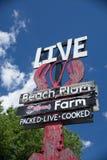 Playa Plum Lobster Farm Fotografía de archivo libre de regalías