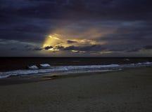 Playa polaca Foto de archivo libre de regalías
