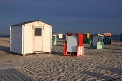 Playa por la mañana Imagen de archivo libre de regalías