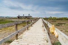 Playa Portland Dorset de Chesil fotos de archivo