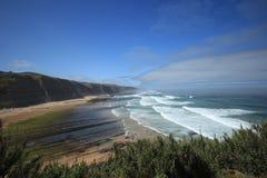 Playa portuguesa Foto de archivo libre de regalías