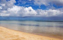 Playa prístina del Océano Índico Imagen de archivo
