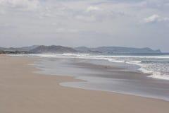 Playa prístina hermosa de Tola Imágenes de archivo libres de regalías