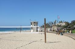 Playa principal en el Laguna Beach Fotografía de archivo
