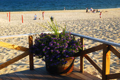 Playa principal, Hampton del este Imagenes de archivo