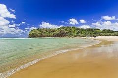 Playa principal india de QE FI del norte Imagen de archivo libre de regalías