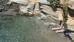 Playa privada Imagenes de archivo