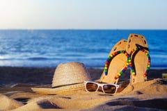 Playa privada Fotos de archivo libres de regalías