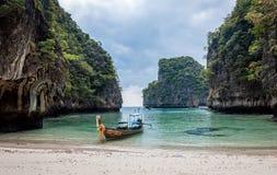Playa privada fotografía de archivo libre de regalías
