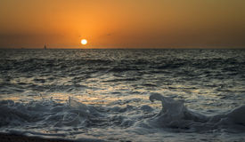 Playa Puerto Vallarta en febrero Imágenes de archivo libres de regalías