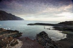 Playa Punta De Teno, Ténérife, Espagne photos libres de droits