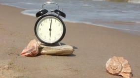 ¡Playa que le espera! almacen de metraje de vídeo