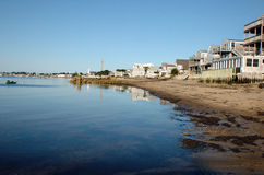 Playa que lleva a Provincetown Cape Cod Massachusetts Fotos de archivo