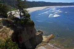 Playa que practica surf, Oregon fotografía de archivo libre de regalías