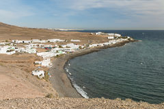 Playa Quemada in Lanzarote, Spain Royalty Free Stock Photo