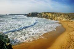 Playa Quiberon Foto de archivo
