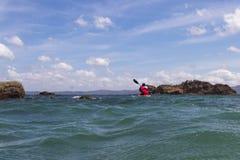 Playa Rajada,哥斯达黎加 免版税库存照片