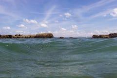Playa Rajada, Costa Rica foto de archivo libre de regalías