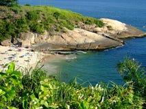 Playa reservada Imagen de archivo libre de regalías