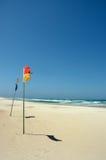 Playa reservada asoleada Fotografía de archivo