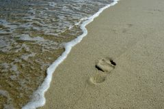 Playa, resto, libertad imagenes de archivo